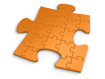 Different Puzzle Stock Photography
