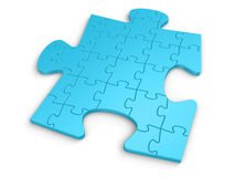 Different Puzzle Royalty Free Stock Photos