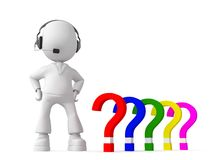 Different questions Royalty Free Stock Photo