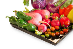 Different raw vegetables background.Healthy eating Royalty Free Stock Photography
