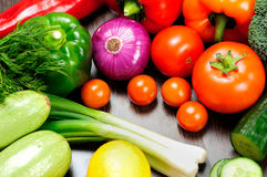 Different raw vegetables Stock Image