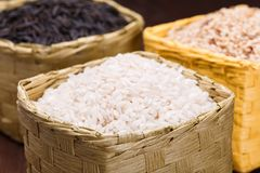 Different rice Royalty Free Stock Photo