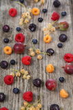 Different ripe berries Royalty Free Stock Photos