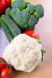 Different ripe vegetables Royalty Free Stock Photo