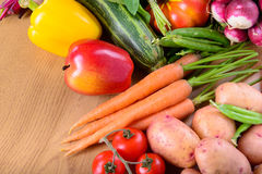 Different ripe vegetables Stock Photography