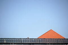 Different roofs Royalty Free Stock Images