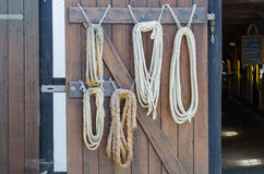 Different Ropes Royalty Free Stock Photos