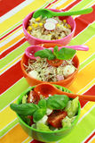 Different salads in buffet Royalty Free Stock Images
