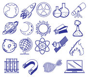 Different science images Stock Images
