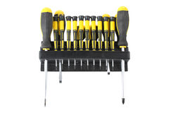 Different screwdrivers royalty free stock image