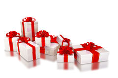 Different Shape Gift Box Royalty Free Stock Photos