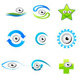Different Shapes Of Eyes Royalty Free Stock Photo