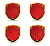Different shields vol2 Royalty Free Stock Image