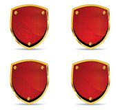 Different shields vol3 Royalty Free Stock Photography