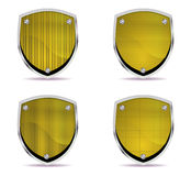 Different shields vol5 Royalty Free Stock Photo