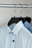 Different shirt in the closet royalty free stock images