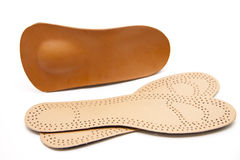 Different shoe insole Royalty Free Stock Image