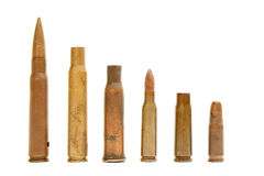 Different size bullet Royalty Free Stock Image