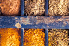 Different sort of Spices Stock Images