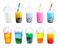 Different sorts of Boba Stock Photography