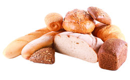 Different sorts of bread Royalty Free Stock Photos