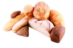 Different sorts of bread Stock Image