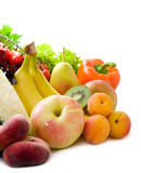 Different sorts of fruit stock photography