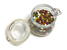 Pulses in a glas Royalty Free Stock Photo