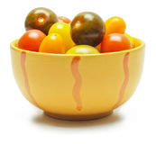 Different sorts of tomatoes. Royalty Free Stock Image