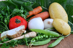 Different sorts of vegetables stock photo