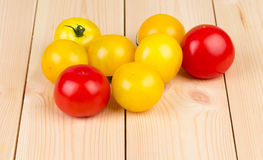Different species of tomatoes Royalty Free Stock Images