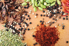 Different of Spice Royalty Free Stock Photo