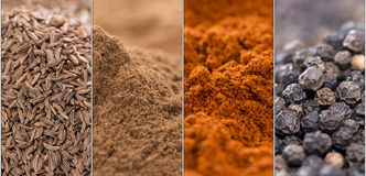 Different Spices Stock Photo