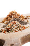 Different spices stack Stock Images