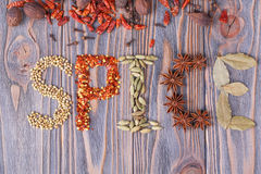 Different  spices Stock Photography