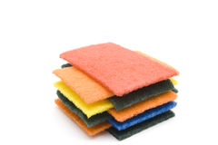 Different Sponge Cloths Stock Image