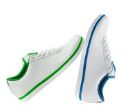 Different sport shoe. For exercise of outdoor activity stock photos