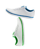 Different sport shoe. For exercise of outdoor activity royalty free stock photo