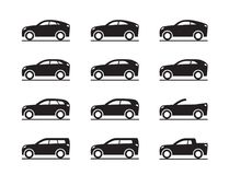 Different sport utility vehicles. Vector illustration Stock Images