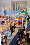 Different Stands At Big Blue Sea Expo, Rome, 2011 Royalty Free Stock Photo