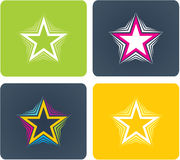 Different star Stock Photography