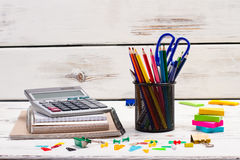 Different stationery. Stock Image