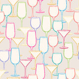 Different stemware Stock Image