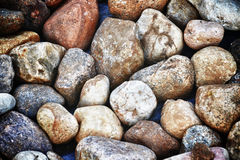 Different stones Royalty Free Stock Images