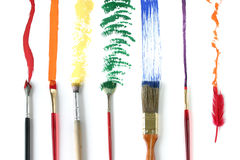 Different Strokes. For different folks. All but one are paintbrushes and all make  and effects. All have different uses but each one is important and