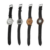 Different style watches Royalty Free Stock Image