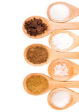 Different Sugar Type I Stock Photo