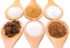 Different Sugar Type IV Stock Image