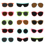Different sun glasses Royalty Free Stock Images
