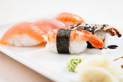 Different sushi set Stock Photography